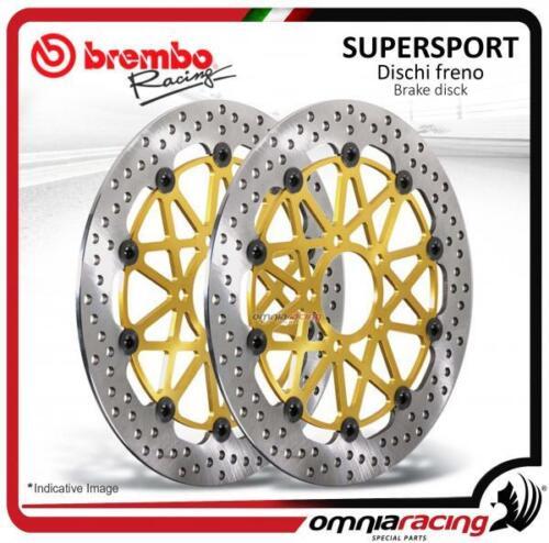 2 Brembo Supersport Bremsscheibe ø310 Suzuki GSX-R GSXR 1000 K5//K7 2005/>2007
