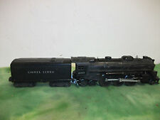 Lionel O Gauge  1947  2-6-4  Steam Engine  # 2037  with Whistle Tender  # 6654W.