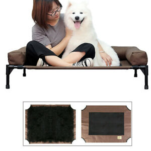 Pet Bed Raised Dog Sofa Lounger