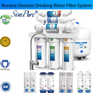 6 Stage Home Drinking Reverse Osmosis System PLUS Extra 8 Express Water Filters