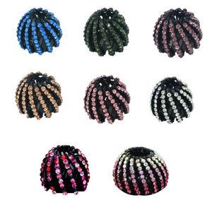 Mode-Femme-Barrette-Epingle-Pince-Donut-Cheveux-Coiffure-Chignon-Bigoudis-Tresse