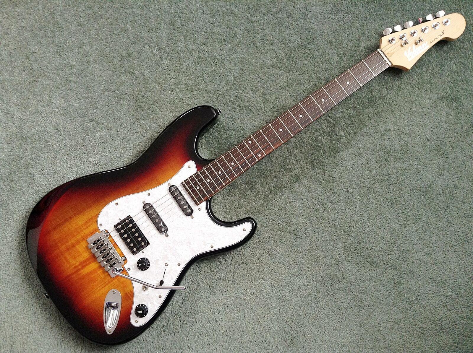 Volcan Studio Plus V Electric Guitar Hill Cut Wilkinson Stratocaster Strat SSH