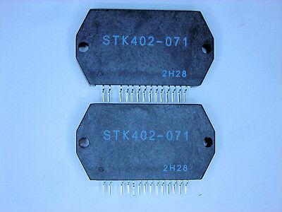 "STK402-100  /""Original/"" SANYO  14P SIP IC  2  pcs"