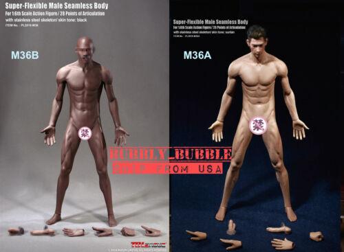 TBLeague PHICEN 1//6 Seamless Steel Skeleton Male Muscular Figure Body M36 M36A