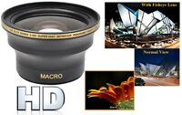 52mm 0.30x Wide Panoramic Fisheye Lens For Camera Camcorder Canon Sony Panasonic