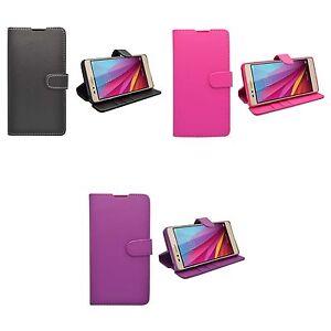 Huawei-Honor-5x-Liso-Cartera-Funda-Libro-Varios-Color