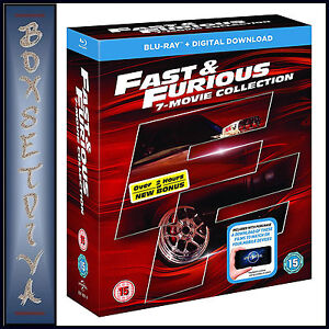 fast and furious collection 1 7 download