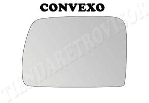 Vidrio Puerta Ala Espejo Para BMW X5 e53 1999-2006 Lado Izquierdo Convexo Stick-On #B009