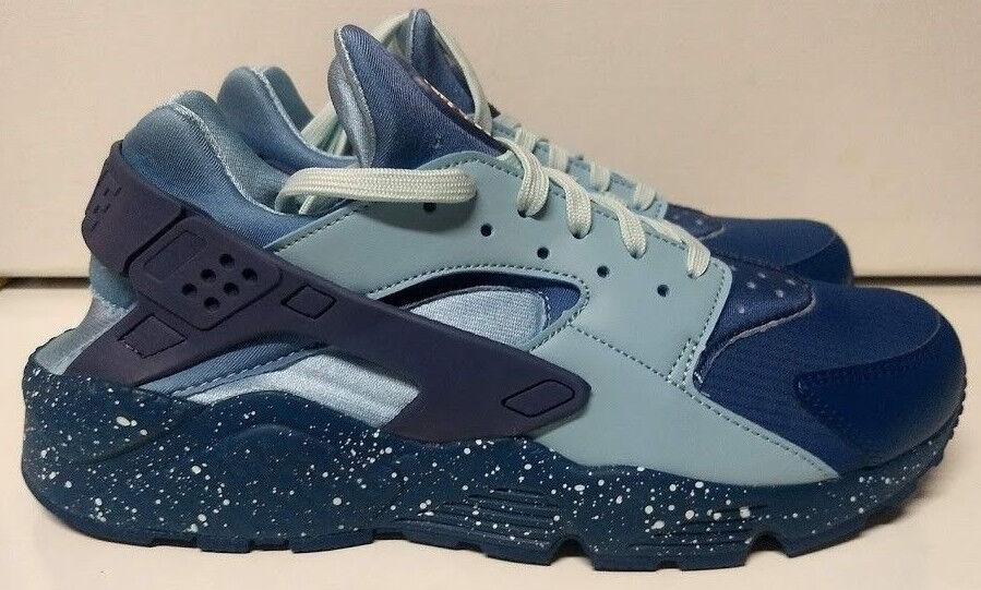 Nike Air Huarache Run PRM Size 9.5 9.5 9.5 Blue Force Diffused Blue Mens Shoe 704830-402 528a3e