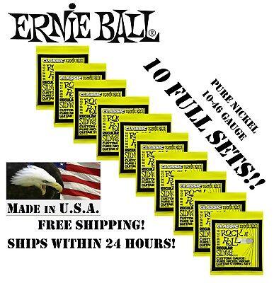 Ernie Ball 2251 R/&R Regular Slinky 10-46 12 Pack