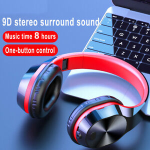Gaming Headset Wireless Bluetooth Headphones Stereo Foldable For Pc Xbox One Ps4 Ebay