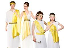 Adult Grecian Goddess Costume Greek Roman Toga Ladies Fancy Dress Outfit S-L