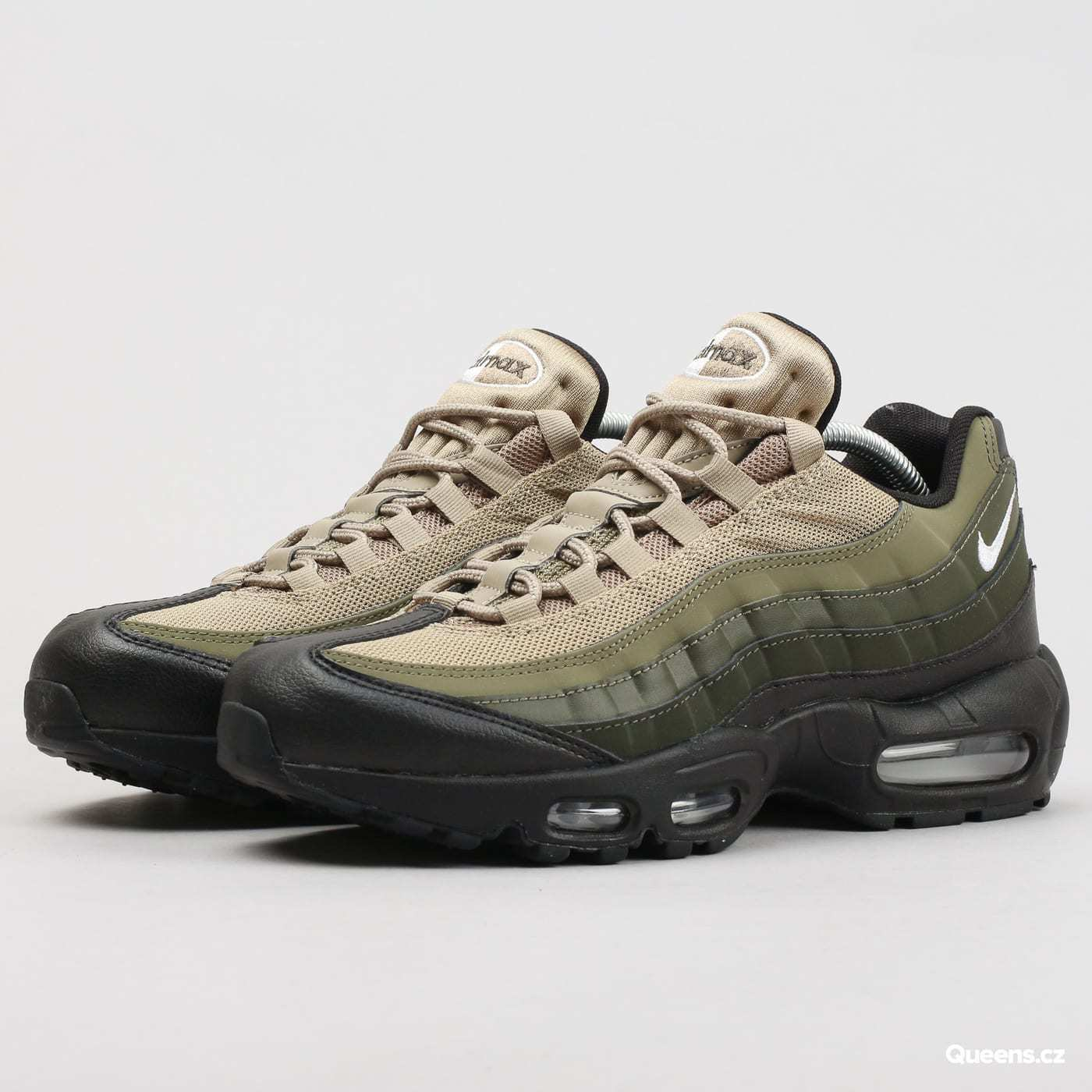 Nike Air Max 95 Premium Sneakers New, Cargo Khaki Green 749766-024 SKU AA sz 12
