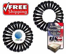 (50) TR 413 Snap-In Tire Valve Stems Short Black Rubber MOST POPULAR VALVE