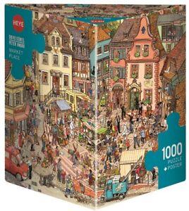 GÖBEL / KNORR - MARKET PLACE - Heye Puzzle 29884 - 1000 Teile Pcs.