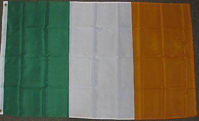 3X5 IRELAND FLAG IRISH PRIDE EIRE ERIN GO BRAGH F484