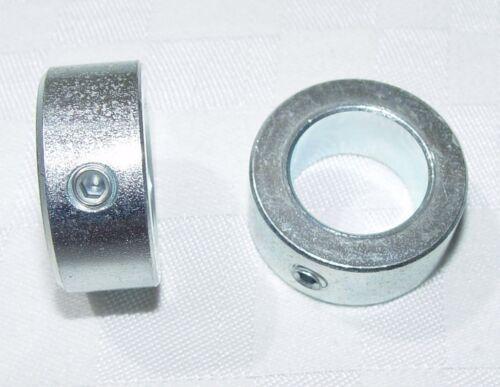 2 pezzi anelli fisse per onda 10mm DIN 705 forma in acciaio a