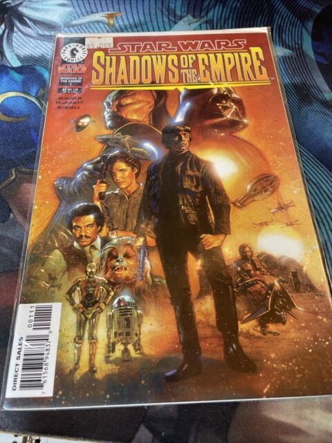 Star Wars: Shadows Of The Empire #1 1st Dash Rendar/Prince Xizor Dark Horse VF