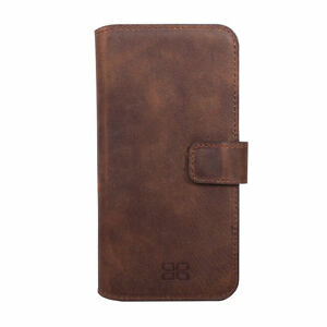 Bouletta Leather Wallet Case For Samsung Galaxy S6 Antic Brown G2 H1891 Cell Phones & Accessories