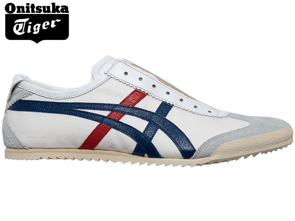 New Onitsuka Tiger MEXICO SLIP-ON DELUXE 1181A145 Freeshipping