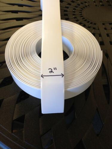 "COLOR Choice! 2/"" Vinyl Strapping For Patio Furniture Repair 200/' Roll"