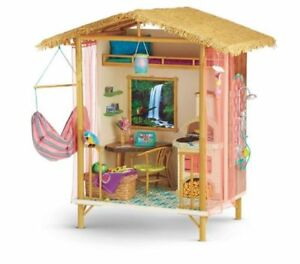 High Quality 2016 American Girl Doll Lea Rainforest House Furniture Hut Accessories
