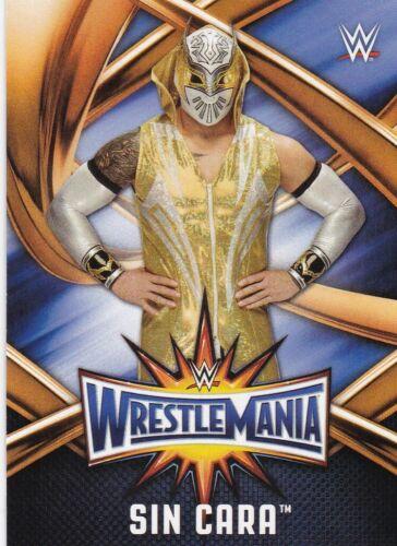 garpy Card #wmr-29 Sin Cara 2017 TOPPS WWE Road to Wrestlemania