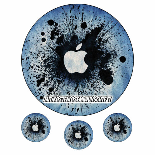 Tortenaufleger Geburtstag Tortenbild Zuckerbild Oblate Apple