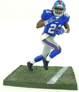 sale retailer cc441 95279 Details about McFarlane Toys New York NY Giants 21 Tiki Barber NFL Series  11 Blue Jersey EUC
