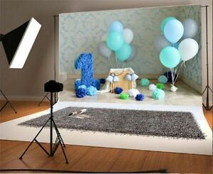 Vinyl 5x3ft Baby One Year Birthday Photography Backgrounds Photo Backdrops Props