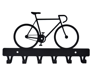Metal Hook Bicycle Fixie wall key Organizer Key Chain Storage Wall Mount Rack