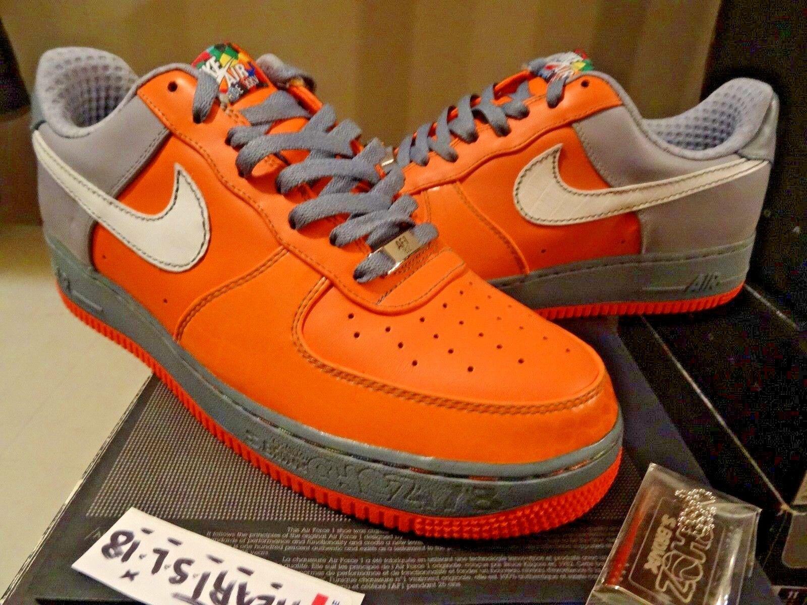 NEW Nike Air Force One '07 Premium  Choz  South Bronx NYC  315180-811 SZ 11 DUNK