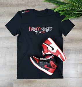 e743e4f7552b PERFECT  Shirt to match Homage to Home Air Jordan 1 Retro SZ Large ...