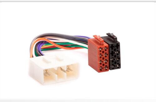 Carav 12-021 autoradio cable del adaptador ISO para Subaru Forester impreza vivio