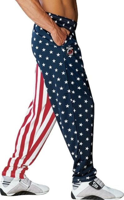 8d41889292e Otomix American Flag USA Baggy Muscle Workout Pants Authentic Medium ...