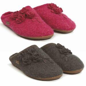 new product df723 14c85 Details zu Damen Hausschuhe Pantoffeln Schuhe Filz Damenschuhe Haflinger  Everest Austin