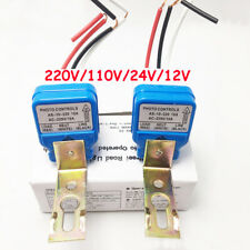 Automatic Auto On Off Photocell Street Sensor Photoswitch Control Photo 10a