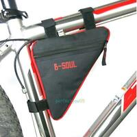 Bike Bicycle Cycling Mountain Frame Front Tube Pannier Saddle Bag Tube Pouch