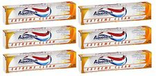 6 Pack - Aquafresh, Extreme Clean Toothpaste Whitening Action - 5.6oz Each