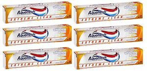 6-Pack-Aquafresh-Extreme-Clean-Toothpaste-Whitening-Action-5-6oz-Each
