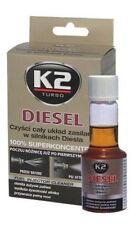 K2 Diesel 2x Motor System Einspritzdüse Reinigerer Zusatz Additiv 2x50ml