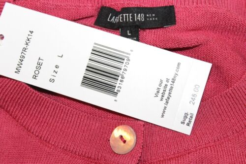 L Lafayette tag Rose One 148 Only Solid con 298 Nuovo New York 1rrqt4