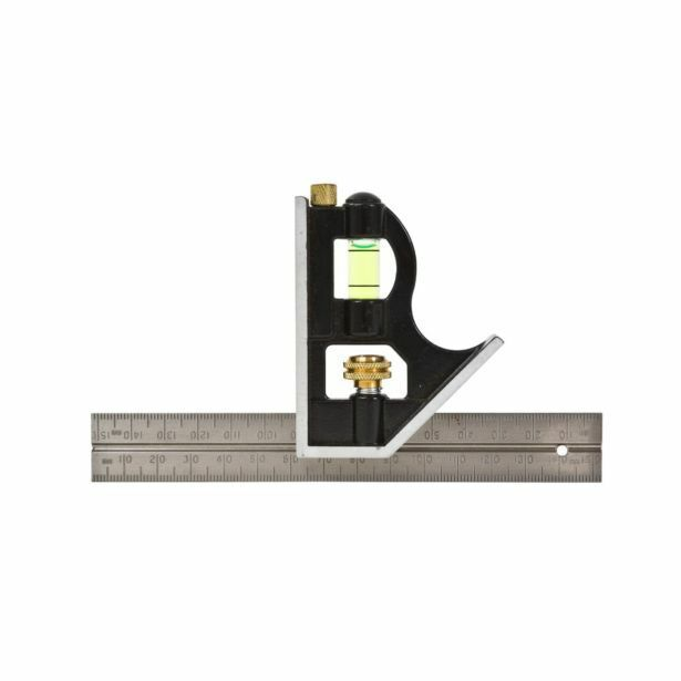 Lufkin COMBINATION SQUARE LCS6 150mm 6'' Stainless Steel Rule Australian Brand