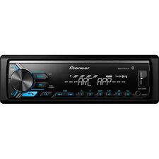 Pioneer 1-DIN Digital Media Receiver with Bluetooth USB AUX Remote | MVH-X390BT