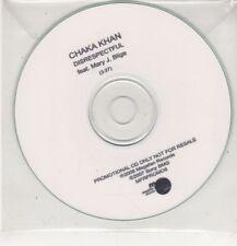(GS736) Chaka Khan, Disrespectful ft Mary J Blige - 2008 DJ CD
