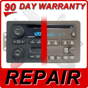 Details about REPAIR YOUR GM Radio Chevy GMC Silverado Avalanche Sierra CD  Player Disc FIX OEM