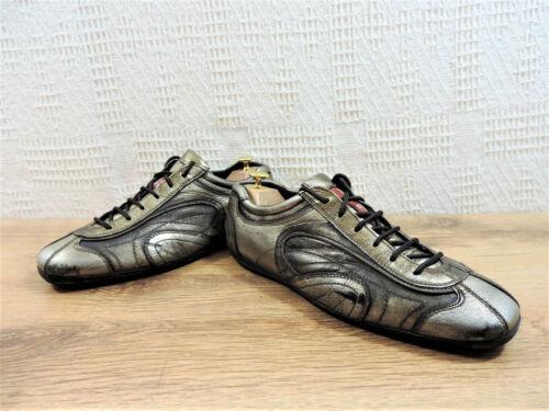 Black Us Italian Rare 11 Trainers Prada Sneakers Uk 44 Men's Eu Bronzed Gold 10 Yx1pdfq