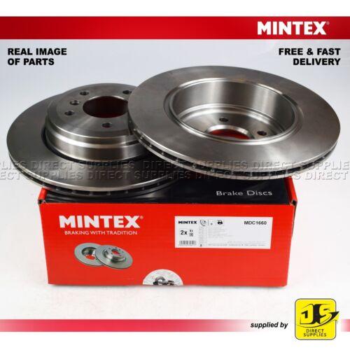 FOR BMW 5 E60 E61 520 523 525 530 6 E64 630 630 i MINTEX REAR DISC BRAKES PAIR