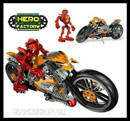 Ultimate FURNO /& BIKE fits lego BIONICLE HERO FACTORY