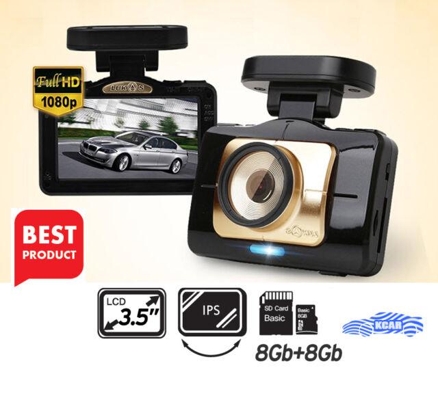Lukas LK-9390 Dash Camera 2CH Full HD ADAS 3.5